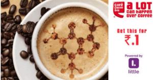 ccd Cappuccino voucher