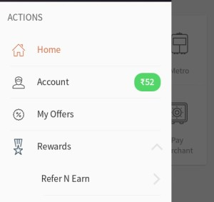 freecharge refer n earn