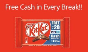 paytm kitkat offer