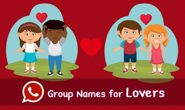 whatsapp group name for lovers